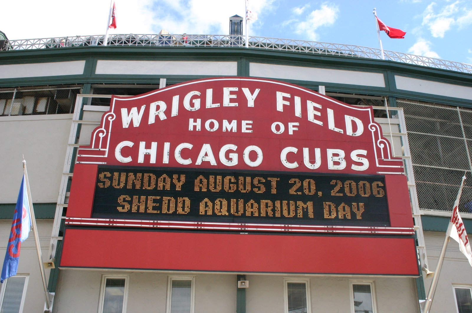 """""""Home Of Chicago Cubs"""""""