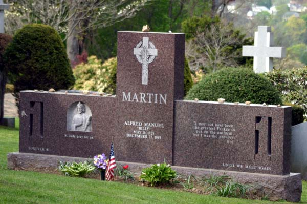 billy martin grave - photo #5